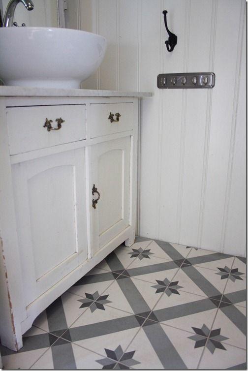 Toilet Tiles From Historiske No Reused Cabinet