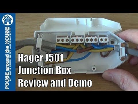 hager j501 downlighter junction box ashley review and demo how to rh pinterest com In Ground Junction Box In Ground Junction Box
