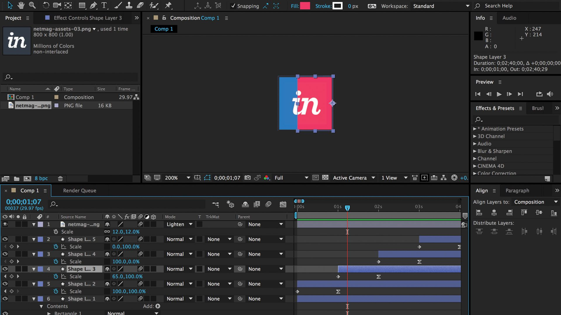 InVision's Andy Orsow explains how to make a custom loading animation in After Effects, and turn it into a lightweight GIF.