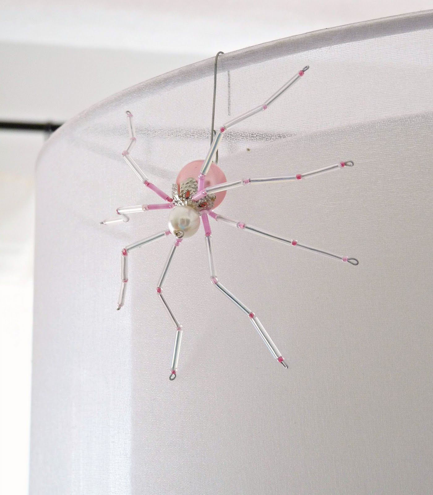 How to make a beaded Christmas spider ornament - and why EVERY tree ...
