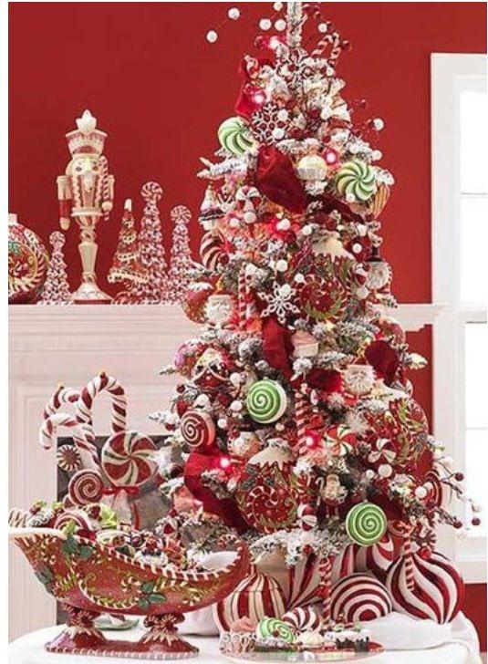 Table top Christmas tree HERE WE GO CHRISTMAS Christmas