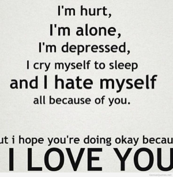 Pin By Diksha Chandramohan On Bipolar Pinterest Love Quotes Sad