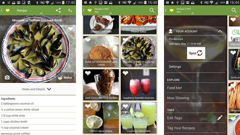 Cheftap recipes dvc ii visual audit pinterest meals recipes 10 best cooking apps and recipe apps for android forumfinder Image collections