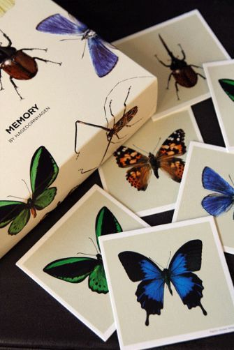 Memory butterfly & insect game