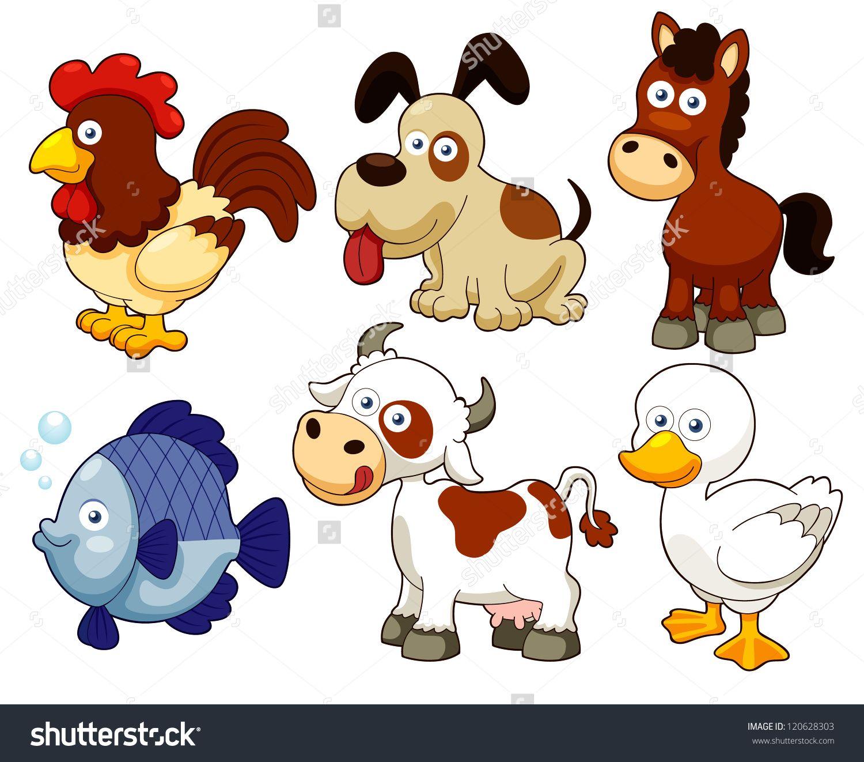 Farm Animals Pictures Cartoons