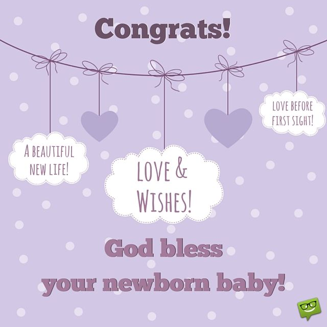 congrats for your newborn baby love wishes