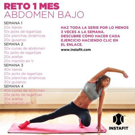 ejercicios para abdomen bajo abdominalexcersise  gym
