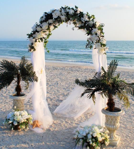 Hawaiian Wedding Altar: Hawaiian Wedding Flower Arrangements