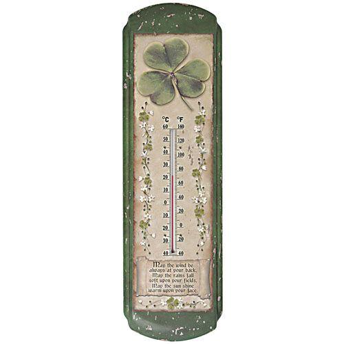 Nostalgic Irish Blessing Thermometer