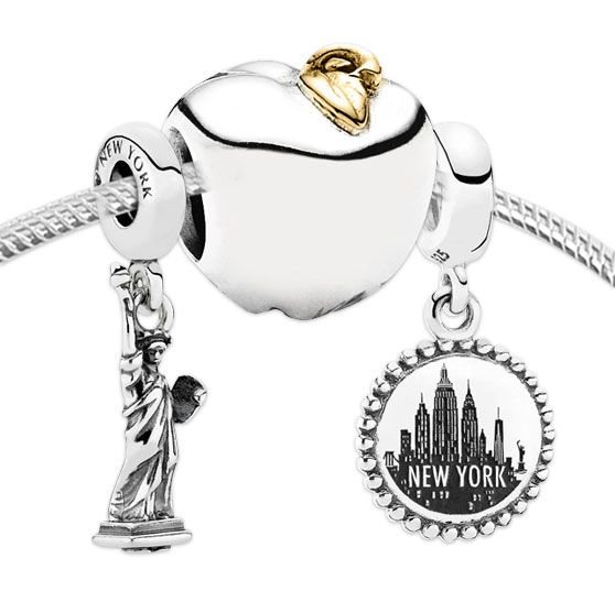 PANDORA Big Apple Charm Set3454