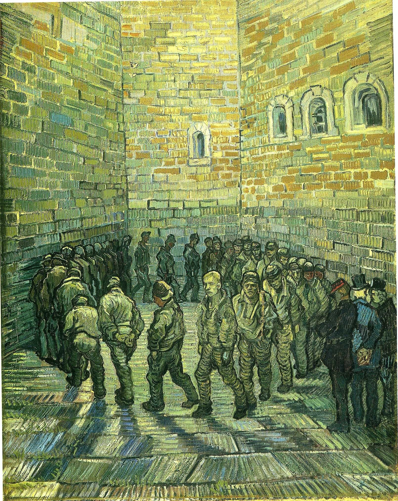La ronde des prisonniers (1890, Musée des beauxarts