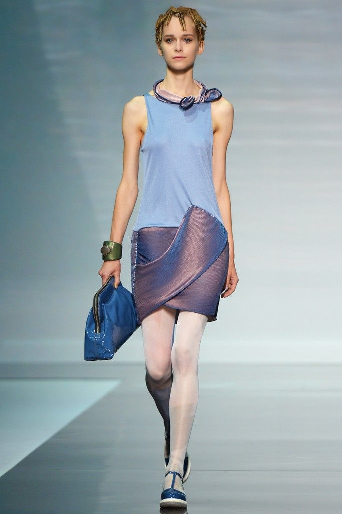 Emporio Armani RTW Spring 2014 [Photo by Davide Maestri]