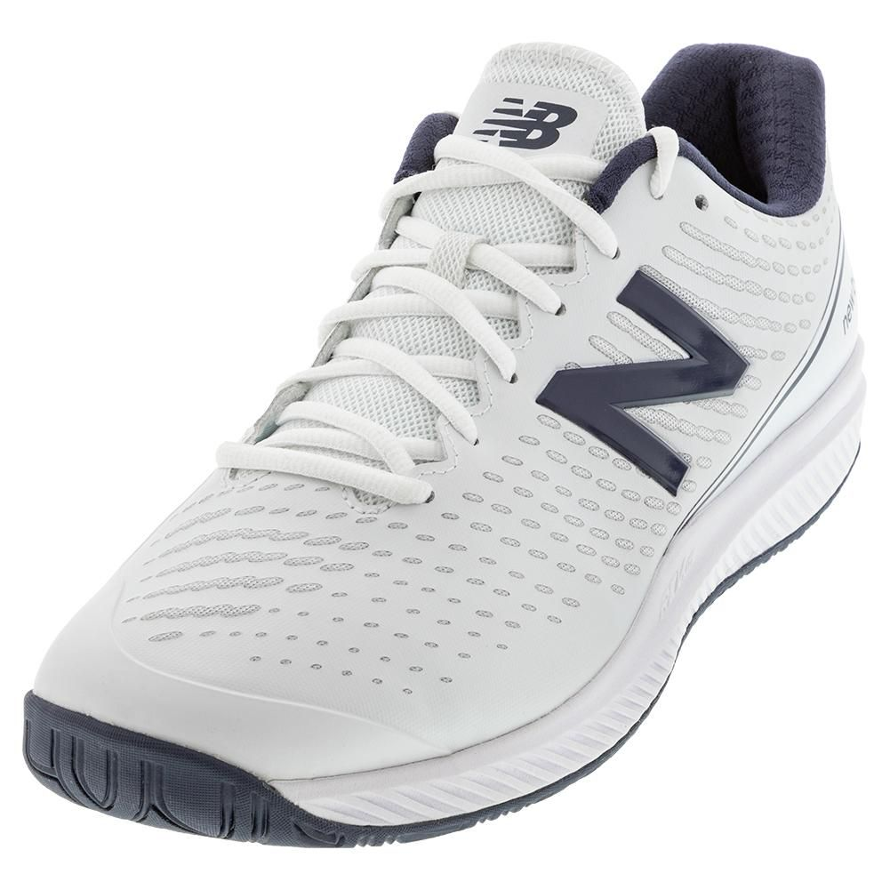 New Balance Men S 796v2 4e Width Tennis Shoes White And Navy Mch796n24e S20 In 2020 Tennis Shoes Shoes Men