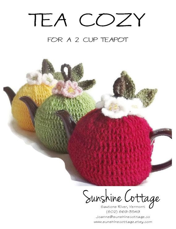 Pattern Crochet Tea Cozy Pattern 2 Cup Tea Cozy Pattern Crochet