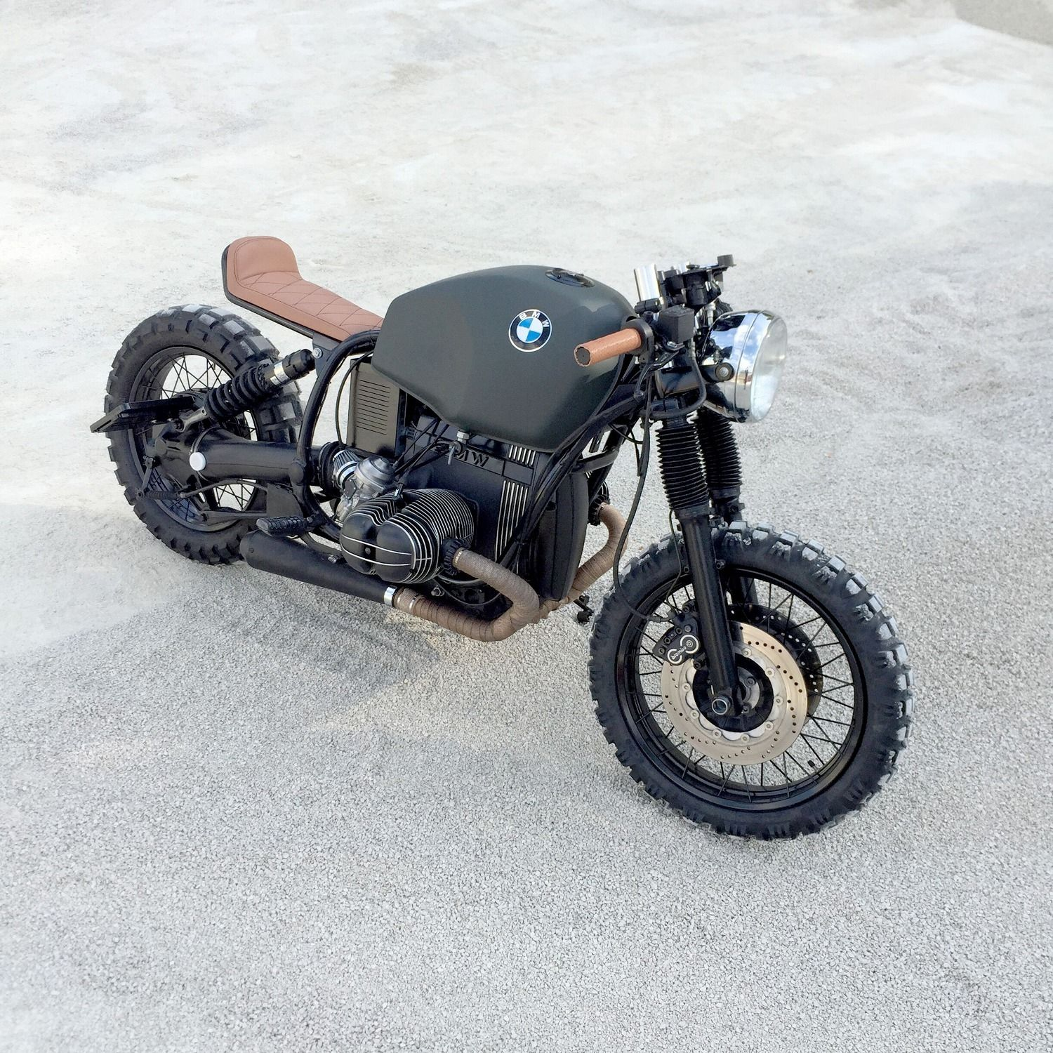 Exclusive Picture Of Bmw Vintage Scrambler Custom Bike R80
