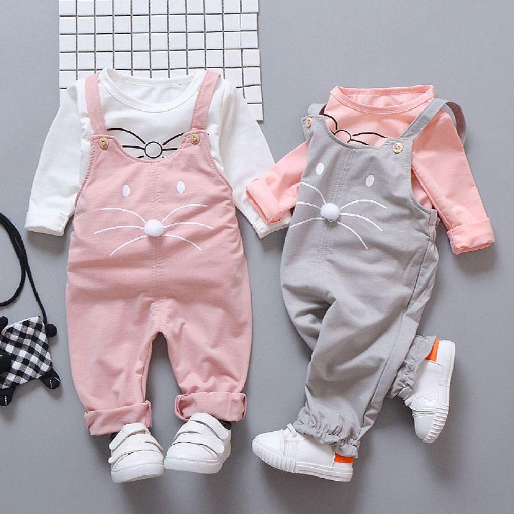 Baby Girls Clothes Sets T-shirt + Pants Clothing  Baby dress set