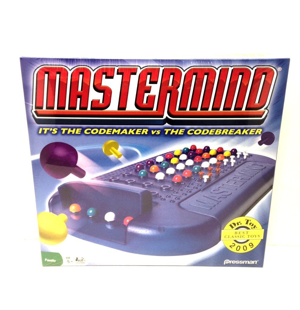 Mastermind Game Games, Secret code, Figure it out
