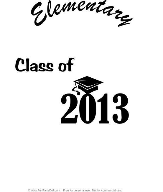 Elementary Graduate T-Shirt Iron-on printable