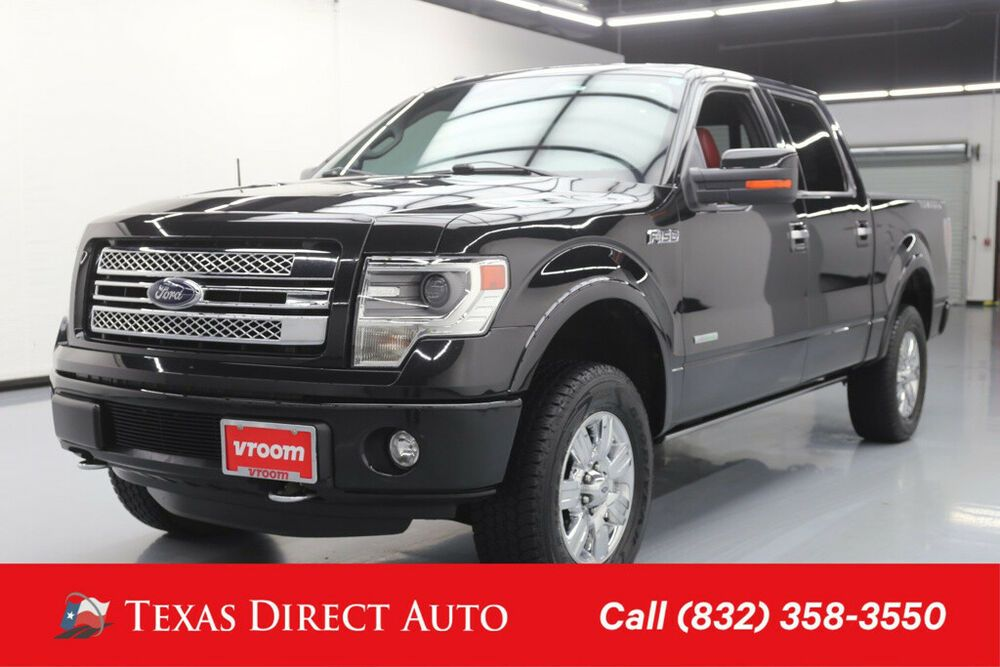 2013 Ford F 150 4x4 Limited 4dr Supercrew Styleside 5 5 Ft Sb