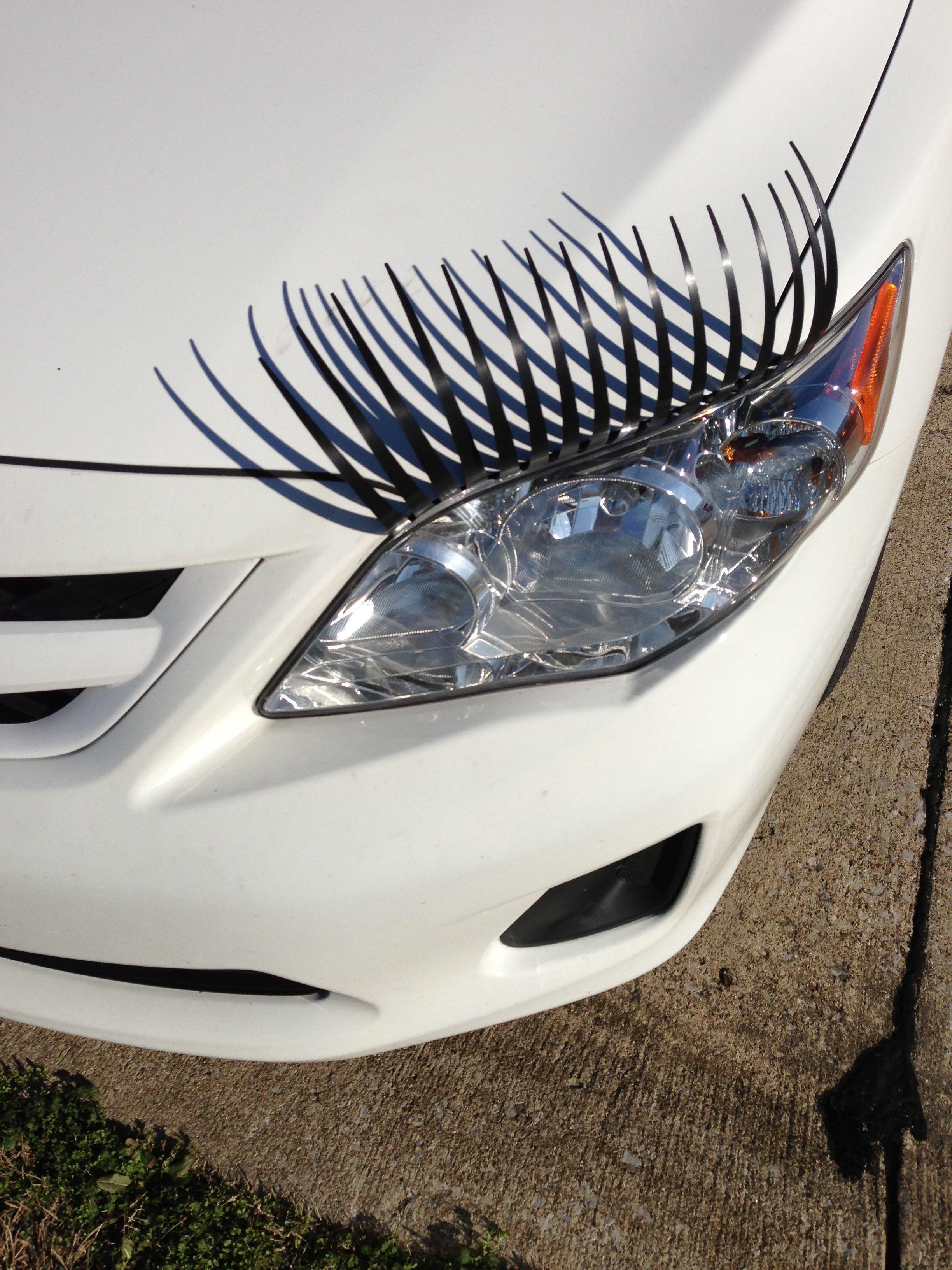 Eyelashes For Your Car Hmmmmmmm Pinterest
