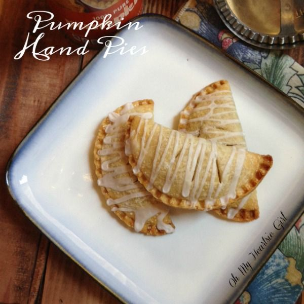 Pumpkin Hand Pies Easy To Eat and Make a Great Lunch Box Treat