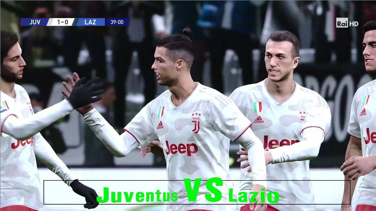 Juventus Vs Lazio Serie A Tim Week 34 Prediction 21 Jul 2020 Pes20pc In 2020 Juventus Lazio Predictions