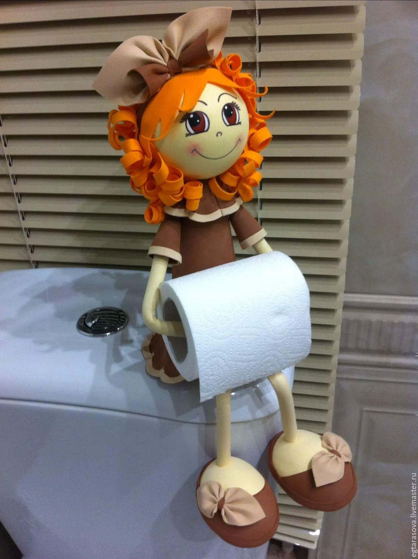 Кукла-держатель для туалетной бумаги – заказать на Ярмарке ...