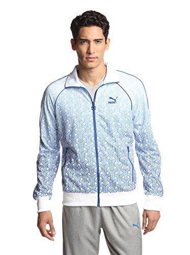0fa282e5cf15 PUMA Men s Brazil Track Jacket (Monaco Blue)