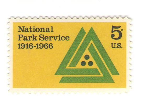 1966 Unused Vintage Postage Stamps - National Park Service - NPS - park ranger resume