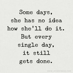 ONE DAY AT A TIME // IT WON'T ALWAYS BE LIKE THIS