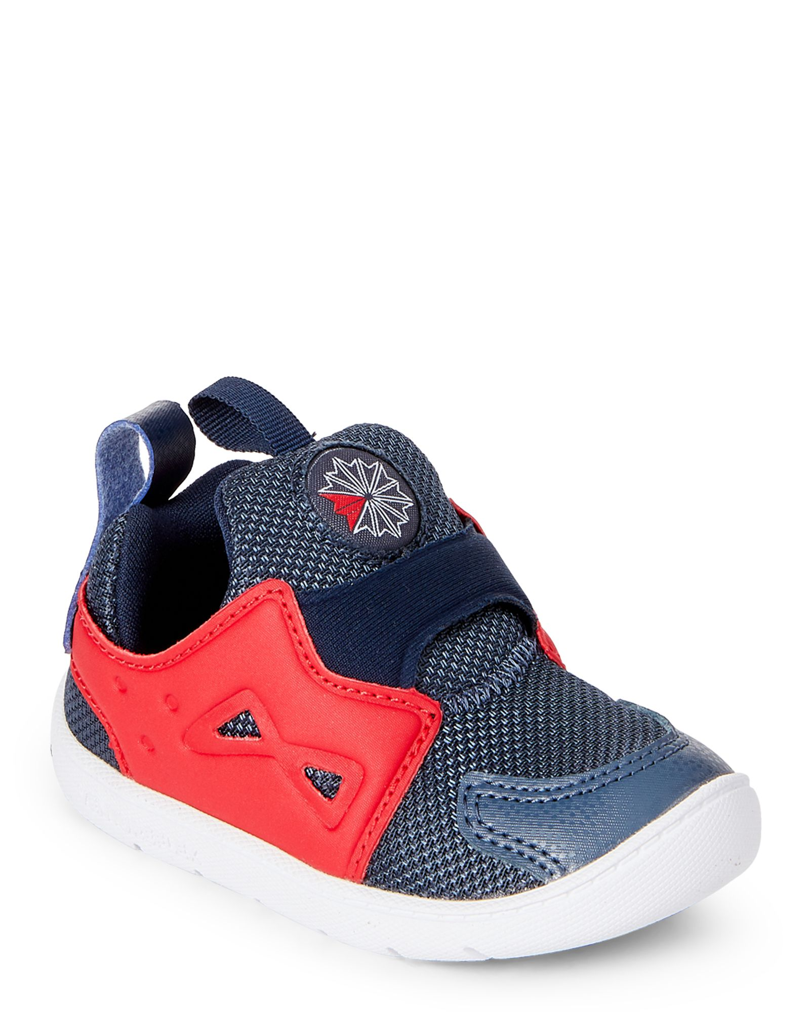 Reebok (Toddler Boys) Indigo   Red Venture Flex Slip-On Sneakers 96181746d