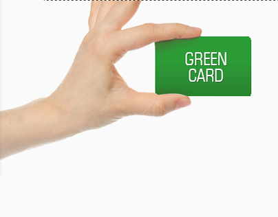 """Check out new work on my @Behance portfolio: """"Green Card"""" http://on.be.net/1H28K1j 