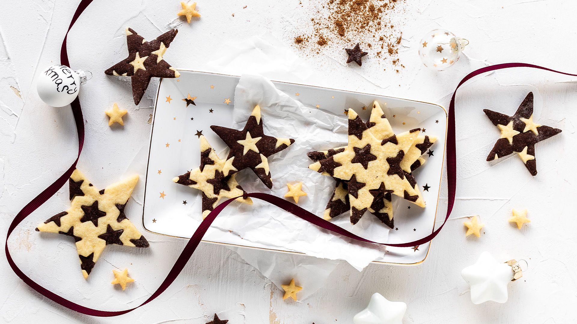 Schwarz-Weiß-Gebäck - Fuchs.de #cinnamonsugarcookies