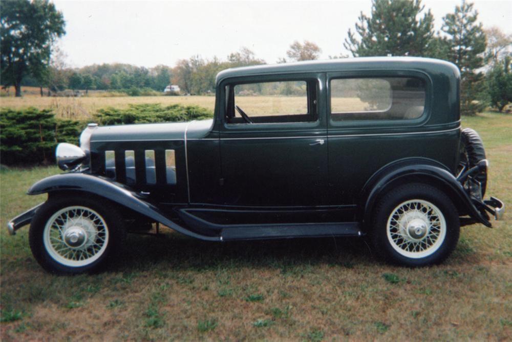 1932 2dr Chevy Sedan