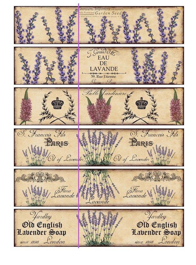 seifenbanderolen lavendel lavender soap lila aus meinem dawandashop scrapbooking l minas. Black Bedroom Furniture Sets. Home Design Ideas