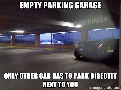 Pin By Shannon Conroy On Funny Stuff Parking Garage Relatable Memes