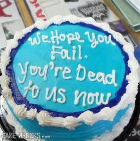 Rude cake Laugh Factory Pinterest