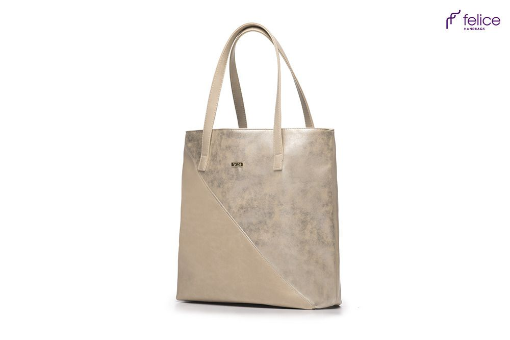 07cba093243af Shopper bag Felice Verona Tres- gold