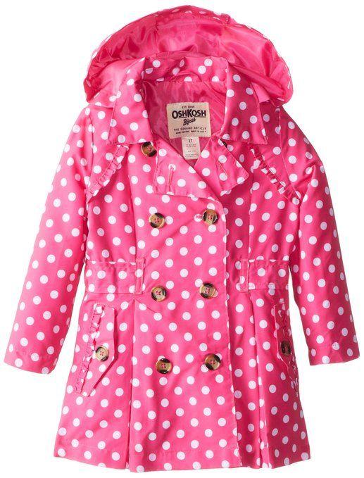 little girls raincoats pink
