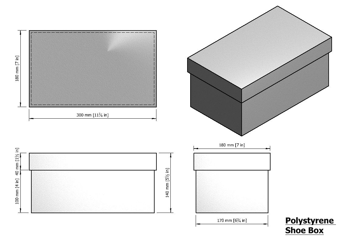 small resolution of shoe box dimensions shoe box cake retail container boxes recipes