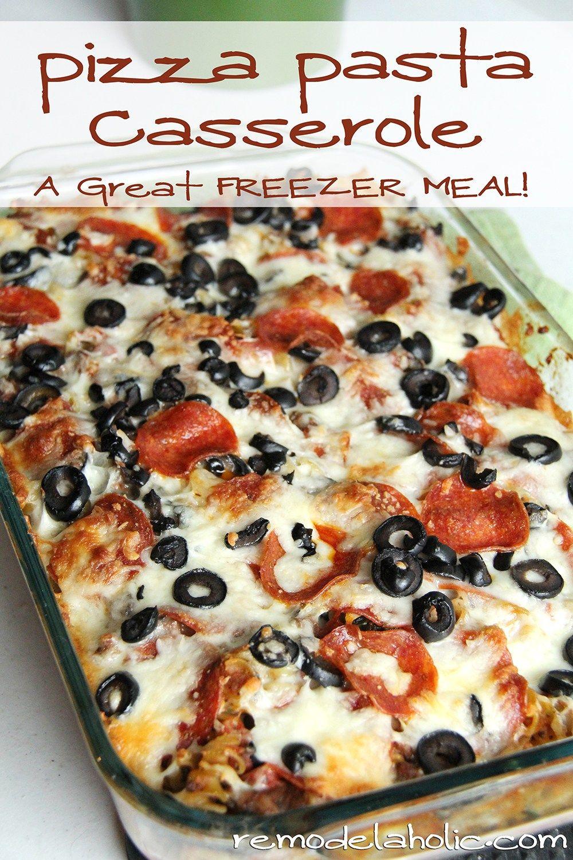 Photo of Pizza Pasta Casserole Recipe