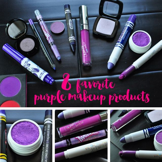 My 8 Favorite Purple Makeup Products