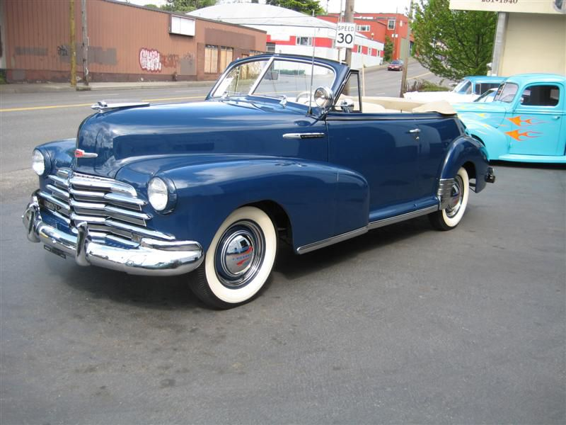 1947 Chevrolet Fleetmaster Convertible ... as near as I can tell ...