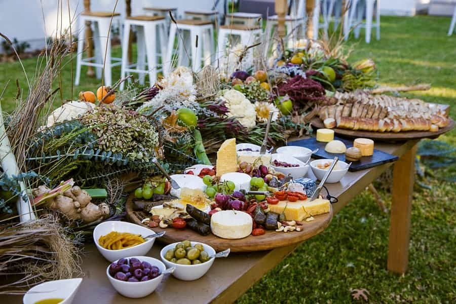 Liling Jibraan S Dream Destination Wedding Wedding Food Table