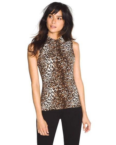 d2d234ef White House | Black Market Sleeveless Leopard Print Sweater #whbm ...