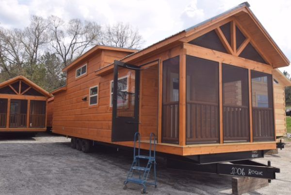 Ruth S 399 Sq Ft Park Model Tiny House For Nc
