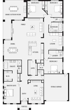 Australian House Plans With Master At Rear Buscar Con Google Australian House Plans House Plans Australia Floor Plans