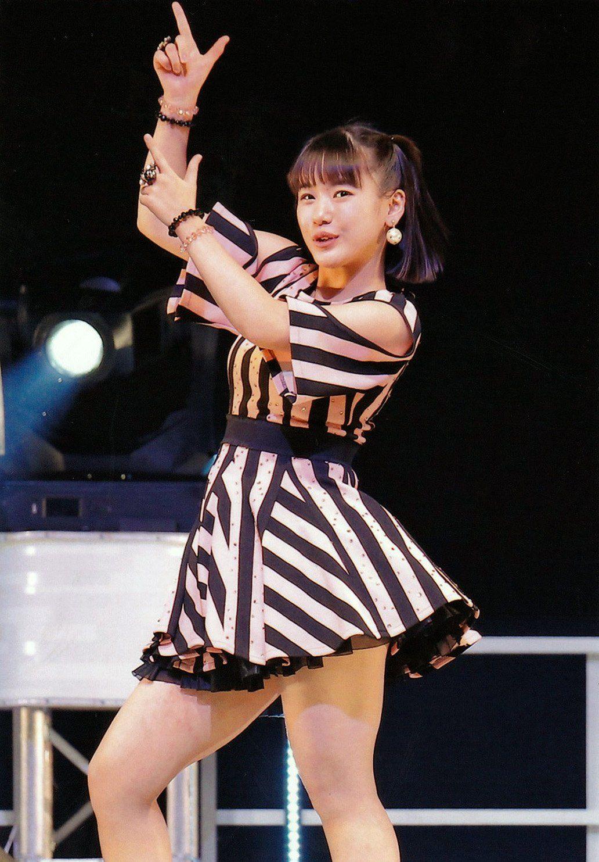 よこやん ง w ว ง w ว 横山玲奈 よこやんかわいい ファッションアイデア ハロプロ ライブ ファッション