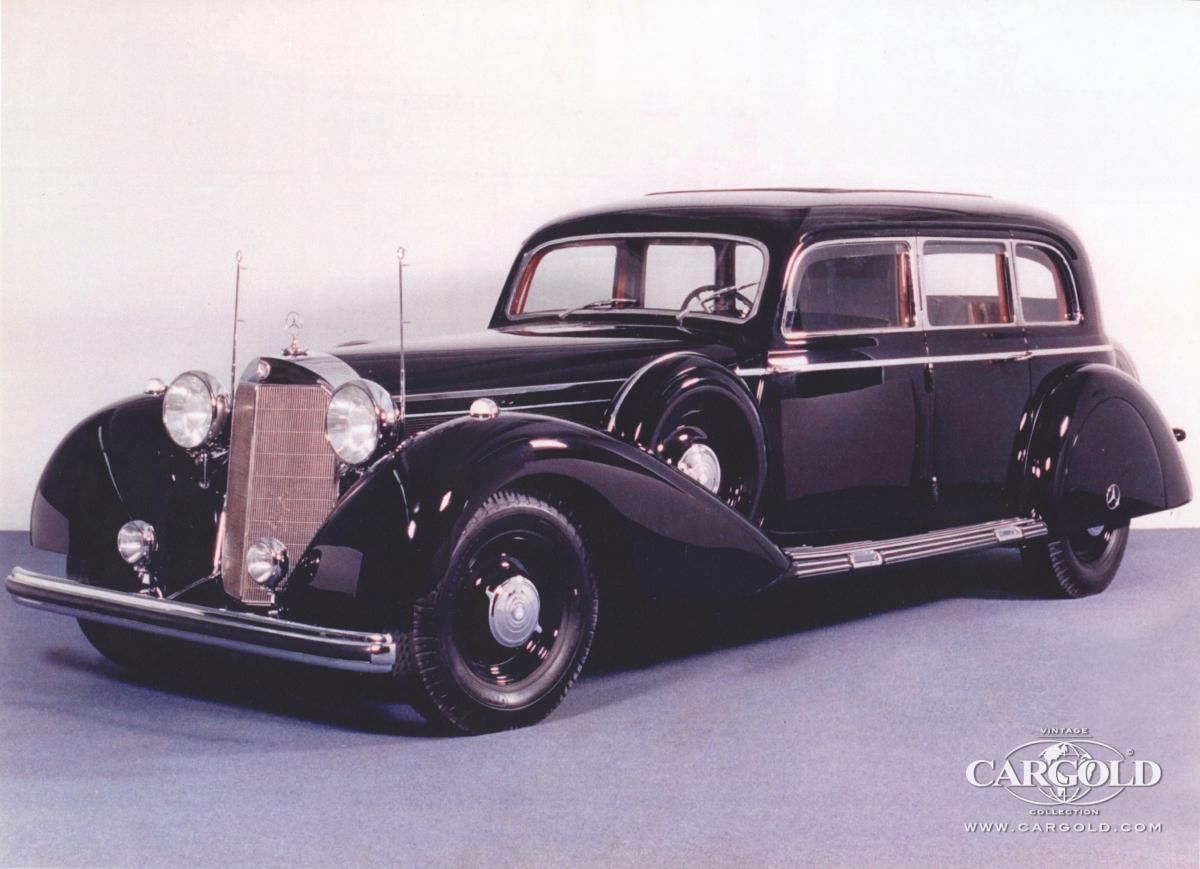 Mercedes-Benz 770K Pullman Limousine - 1943, -Las Vegas- Stefan C ...