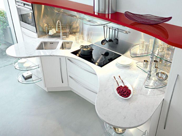Snaidero #Cucine #Kitchen Skyline, Lucci & Orlandini Design. The ...